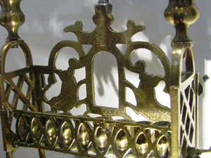 Menorah. South African Jewish Museum, Cape Town. Photo: Menachem Wecker.