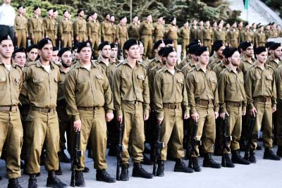 Armored Corps trainees