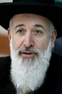 Ashkenazi Chief Rabbi Yona Metzger