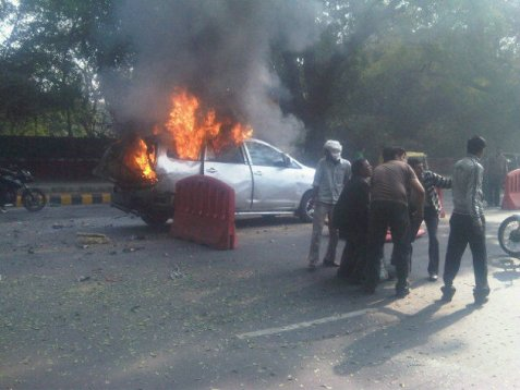 Bomb attack in New Delhi