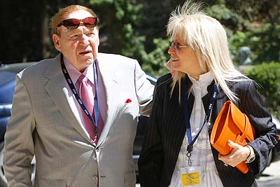 Jewish billionaire Sheldon Adelson and his wife Miriam Ochshorn.
