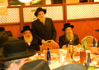 Kobersdorfer Rav, Rabbi Gershon Tannenbaum, Beleder Rav.