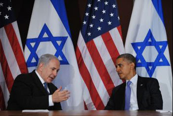 Prime Minister Netanyahu and President Obama.