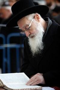 Orthodox man praying