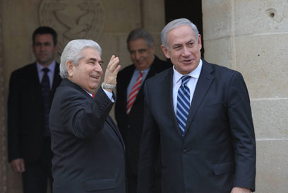PM Netanyahu with Cypriot counterpart President Christofas