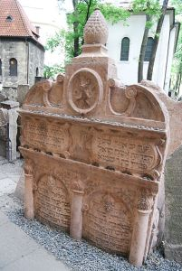 The tomb of the Maharal