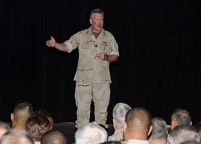 Vice Admiral Mark Fox