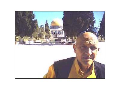 Adir Zik on Temple Mount