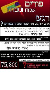 Anti-Purim Internet Pamphlet