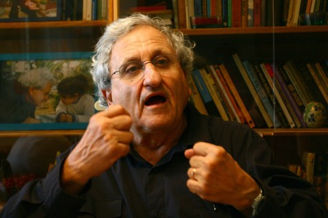 Israeli novelist A.B. Yehoshua