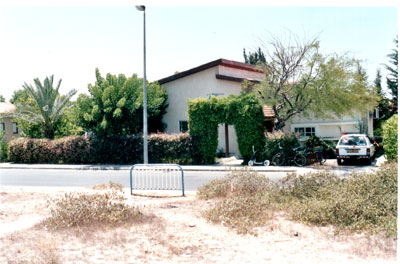 The Ohana home in Neve Dekalim