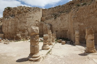 Herodian ruins in Judea and Samaria