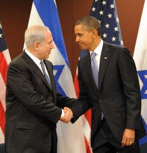Israeli Prime Minister Benjamin Netanyahu and U.S. President Barack Obama