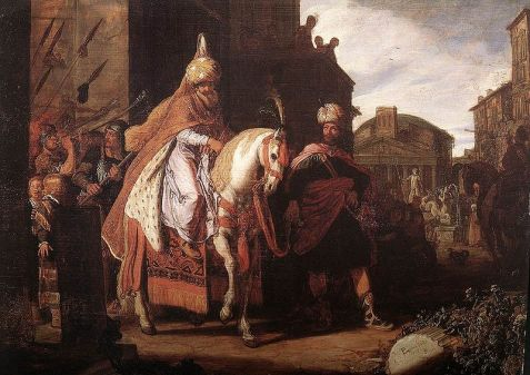 The Triumph of Mordechai by Pieter Lastman