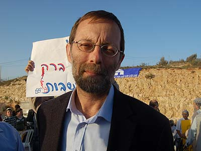 Likud leadership contender Moshe Feiglin has seen his name be made synonymous with love of Eretz Israel by Ehud barak.