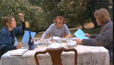 """A scene from Woody Allen's """"Sleeper."""" Diane Keaton wails: """"Oy vey Ize Meer…"""""""