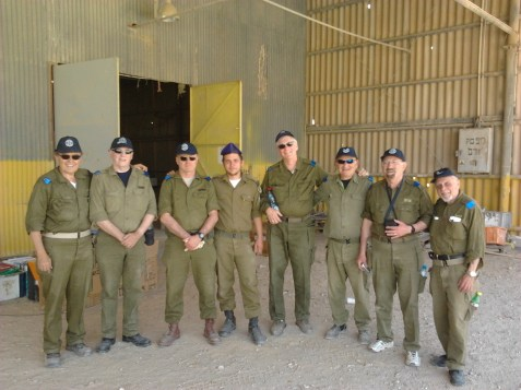 Sar-EL volunteer group
