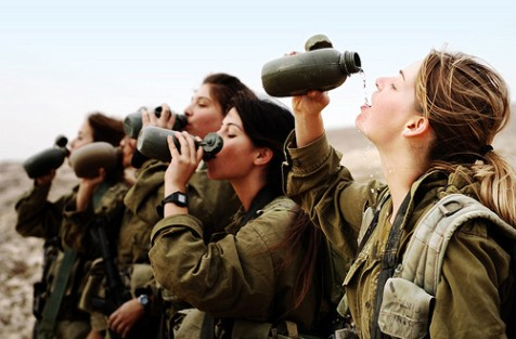 Unrelated but lovely to behold: IDF Infantry Instructors course, featuring individual and group drills, navigation practice, sleeping in the field and camouflage training. Bring water!