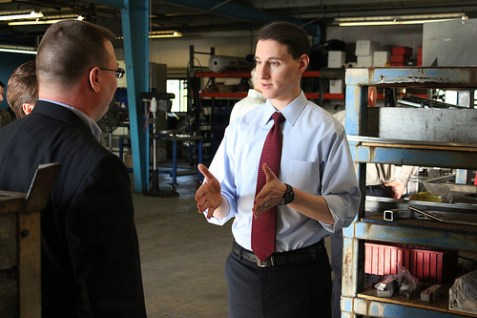 Republican U.S. Senate candidate and Ohio state Treasurer Josh Mandel.
