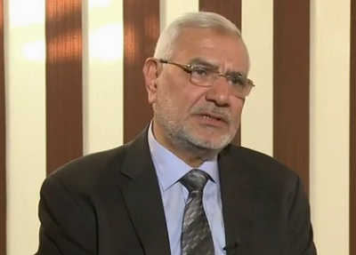 Egyptian Presidential candidate Abdel Moneim Aboul Fotouh