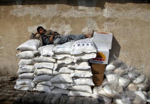 UNRWA aid