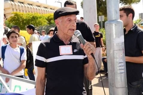 Avraham Nocham, hunger-striker against Ulpana relocation