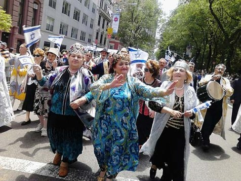 Members of the Bukharian Jewish Community Supporting Israel