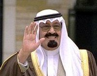 King Abdullah Abdullah of Saudi Arabia