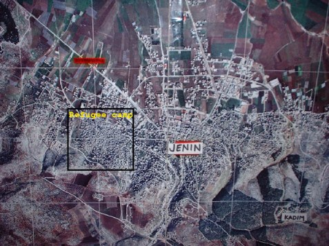 City of Jenin and refugee camp
