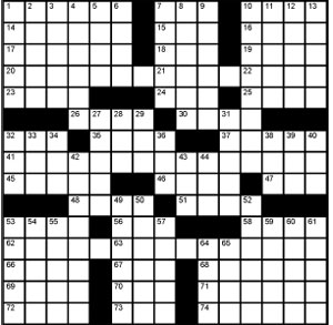 Crossword-Measurements