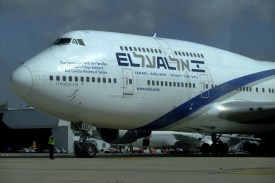 Only El Al and British Airways continued to fly routine flights in and out of Ben Gurion International Airport.