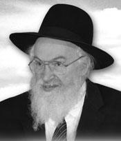 Rabbi Chaim Yisroel Belsky