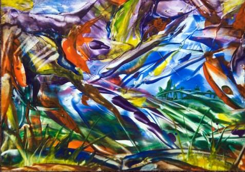 Shalom-painting