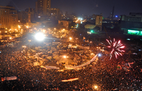 Tahrir Square in Egypt