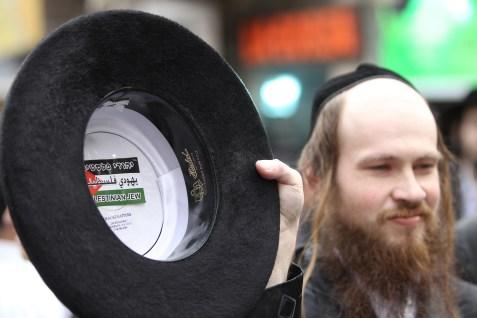 "Member of Neturei Karta's ""Palestinian Jews"""