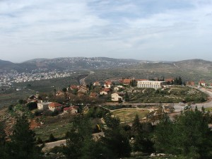 The government is trying to implement a 'land freeze' to stop Jews form building in Samaria.