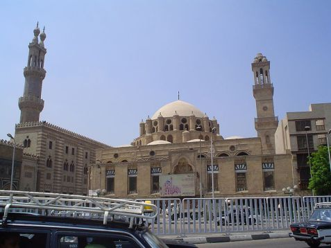 Al-Azhar University in Cairo, linked to the centuries-old Al Azhar Islamic Center, the oldest center of Islamic learning in the world.