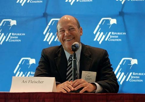 Former White House press secretary Ari Fleischer.
