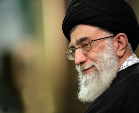 Iran's Ayatollah Ali Khamenei: With a smile like that, he couldn't possibly want to annihilate Israel, right?