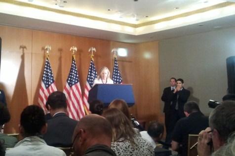 Hillary Clinton in Jerusalem