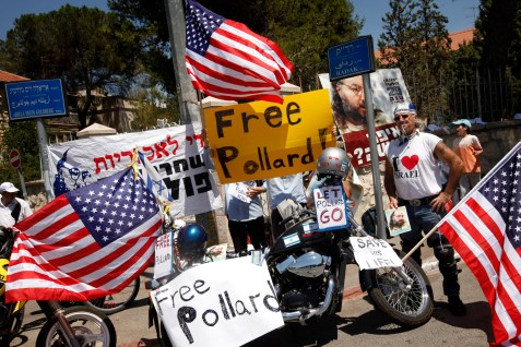 Demonstrations for the release of Jonathan Pollard