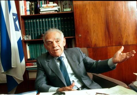 Former Prime Minister Yitzhak Shamir