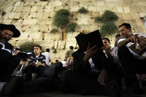 Tisha B&#039;av at the Western Wall