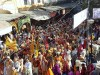 A celebration in Pushkar (actually, it was the Camel Fair of 2008, but there were no camels to be found in this colorful crowd).