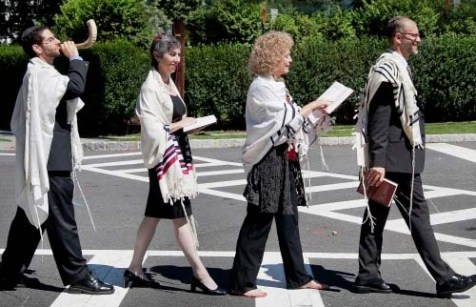 """Shofar Road"" photo on the Reconstructionist Rabbinical College home page. We believe our readers can tell the difference."