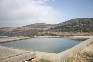 Water spring in Samaria.