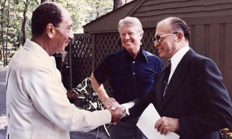 Sadat, Carter, Begin -- planters of the poison tree.