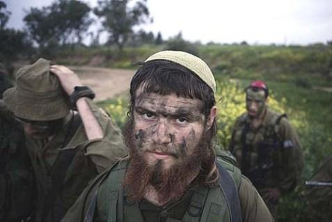 Neztach Yehuda Battalion soldiers.