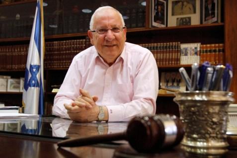 Former Knesset Speaker and MK Reuven Rivlin (Likud).