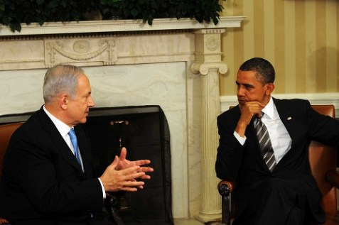 Netanyahu carried his message to Americans through the media after meeting with President Obama and castigating Iran at the UN. (September 30, 2013)